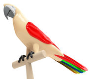 Papegojan Royaltyfri Bild