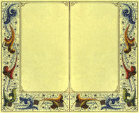 Papel 1 do vintage foto de stock royalty free