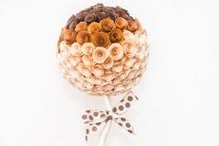 Papel abstrato da flor Fotos de Stock