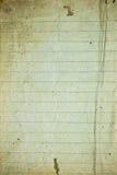 Papel alineado retro Imagenes de archivo