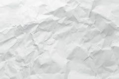 Papel amarrotado Imagens de Stock