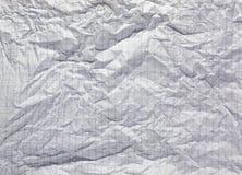 Papel arrugado Foto de archivo libre de regalías