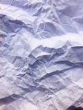 Papel arrugado Fotografía de archivo
