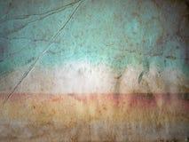 Papel arrugado del color Fotos de archivo