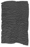 Papel arrugado gris oscuro Imágenes de archivo libres de regalías