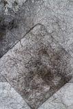 Papel arrugado viejo gris del fondo de Vintege arrugado Imágenes de archivo libres de regalías