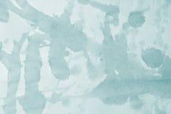Papel azul con las manchas foto de archivo libre de regalías