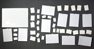 Papel blanco de la foto foto de archivo libre de regalías