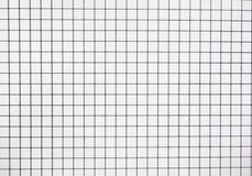 Papel blanco de las tejas Fotografía de archivo