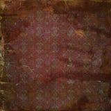 Papel boêmio do álbum de recortes do grunge Imagem de Stock