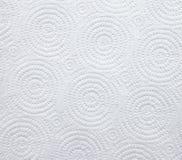 Papel branco do guardanapo Imagens de Stock