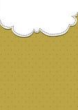 Papel branco e marrom Imagem de Stock Royalty Free