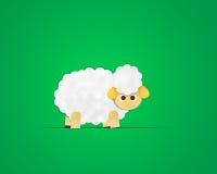 Papel Clipart dos carneiros Foto de Stock Royalty Free