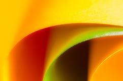 Papel coloreado Imagen de archivo libre de regalías