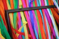 Papel coloreado y enmarcado Imagen de archivo libre de regalías
