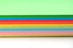 Papel colorido Imagens de Stock