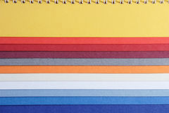 Papel colorido Foto de Stock