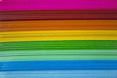 Papel colorido Imagem de Stock