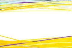 Papel colorido aislado en blanco Fotografía de archivo libre de regalías