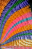 Papel colorido borrado no fundo foto de stock