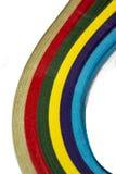 Papel colorido brillante Foto de archivo libre de regalías