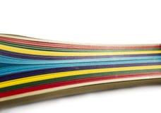 Papel colorido brillante Fotos de archivo libres de regalías