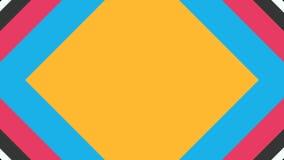 Papel colorido da transição vídeos de arquivo
