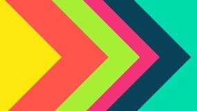 Papel colorido da transição filme