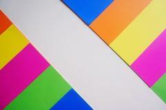 Papel colorido para o fundo Imagem de Stock