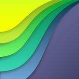 Papel colorido para o fundo ilustração stock