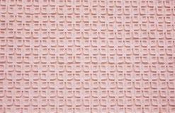 Papel cor-de-rosa com texturas da listra fotografia de stock royalty free