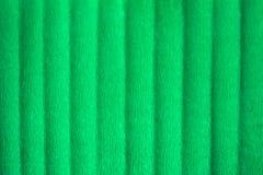 Papel crepom verde vazio, fundo textured abstrato fotografia de stock royalty free