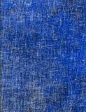 Papel cruzado azul de la portilla Imagenes de archivo