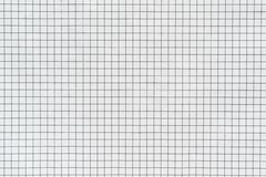 Papel a cuadros de la textura o material y tela del color blanco imagenes de archivo