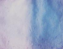 Papel da aguarela da textura do fundo Imagens de Stock