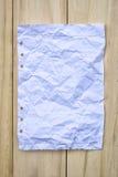 Papel da reutilização Fotos de Stock