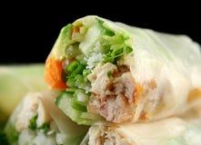 Papel de arroz vietnamiano Rolls 5 Foto de Stock Royalty Free