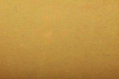 Papel de arte hecho a mano amarillento imágenes de archivo libres de regalías