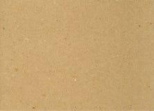 Papel de Brown foto de archivo