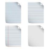 Papel de carta stock de ilustración