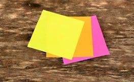 Papel de carta colorido Foto de archivo