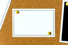 papel de cubierta de madera del boletín del tablero imagen de archivo libre de regalías