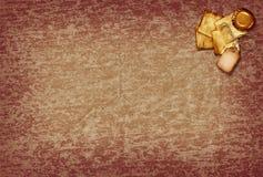 Papel de desecho de la vendimia Fotografía de archivo libre de regalías