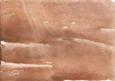 Papel de desenho de cor castanha rosado da lavagem fotografia de stock royalty free