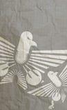 Papel de Eagle Imágenes de archivo libres de regalías