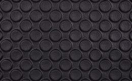 Papel de empapelar negro del cojín del círculo Fotos de archivo