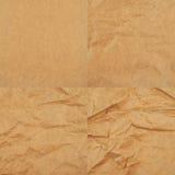 Papel de empaquetado marrón barato Foto de archivo libre de regalías