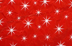 Papel de envolvimento do Natal Fotos de Stock Royalty Free