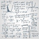 Papel de 01 fórmulas Fotos de archivo libres de regalías
