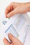 Papel de funcionamento disponivel Fotografia de Stock Royalty Free